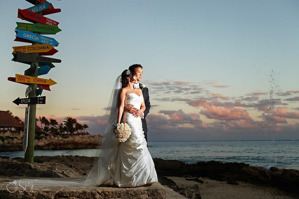 Destination wedding Riviera Maya Xcaret Park Mexico Del Sol Photography