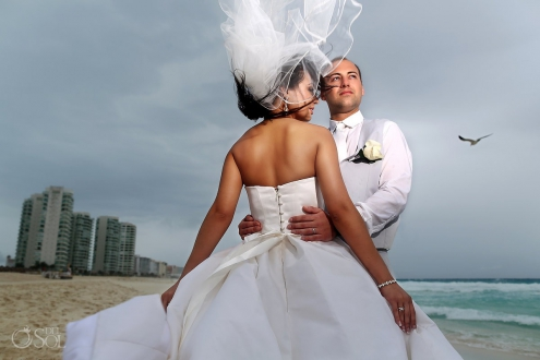 Destination wedding Cancun Le Blanc Resort Mexico Del Sol Photography