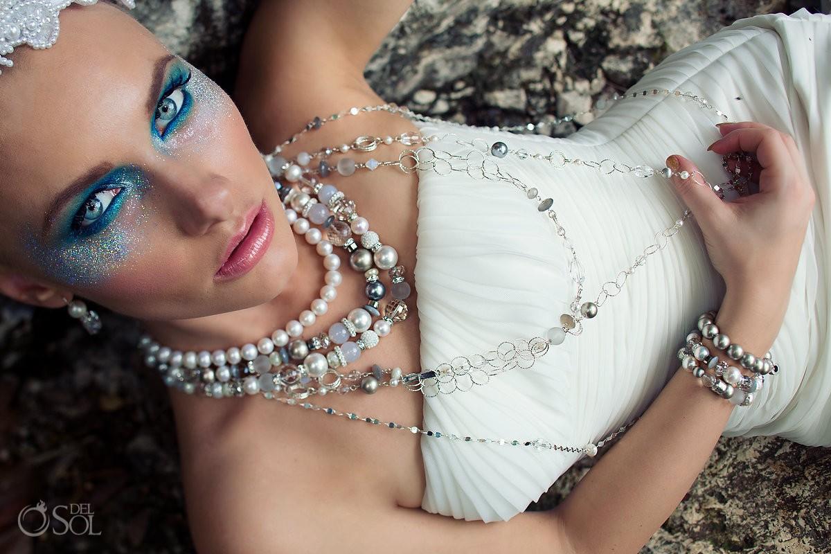 Riviera Maya commercial photography jewelry beach Mexico