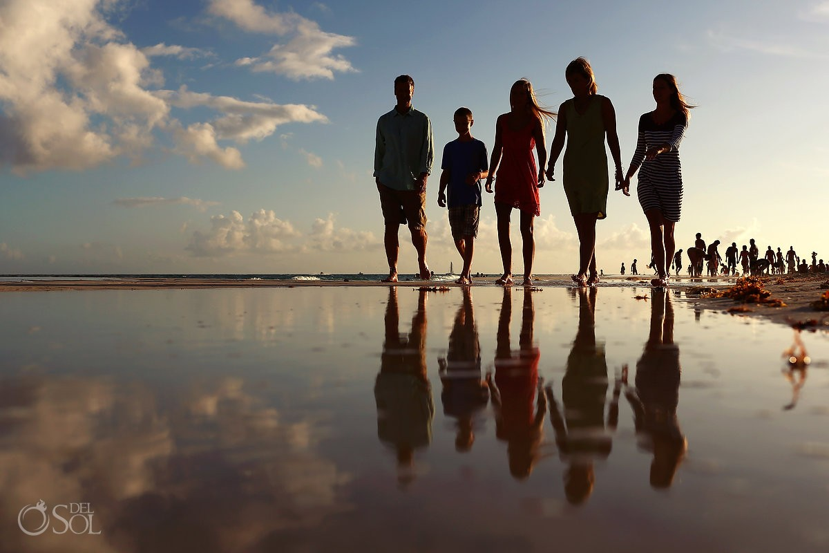 Family portraits Playa del Carmen Mexico Del Sol Photography
