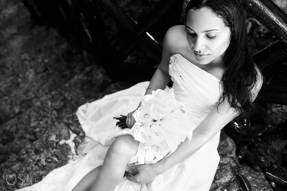 Trash the dress photography Riviera Maya Mexico Del Sol Photography