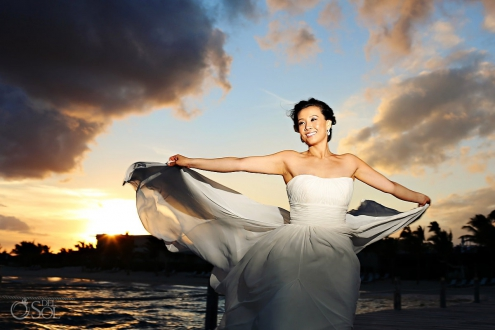 Blue Diamond Riviera Maya destination wedding