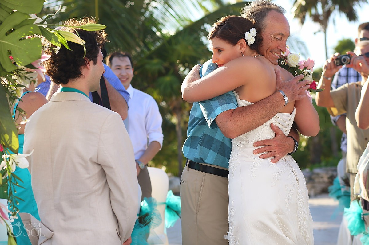 Beach wedding Riviera Maya Grand Sirenis Resort Mexico Del Sol Photography