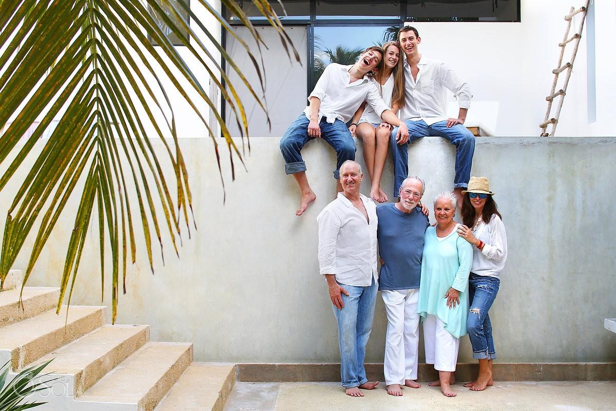 Tulum family portraits Casa Laha Mexico Del Sol Photography
