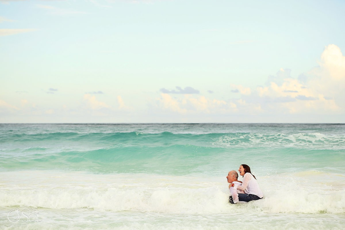 Tulum family portraits beach Casa Laha Mexico Del Sol Photography