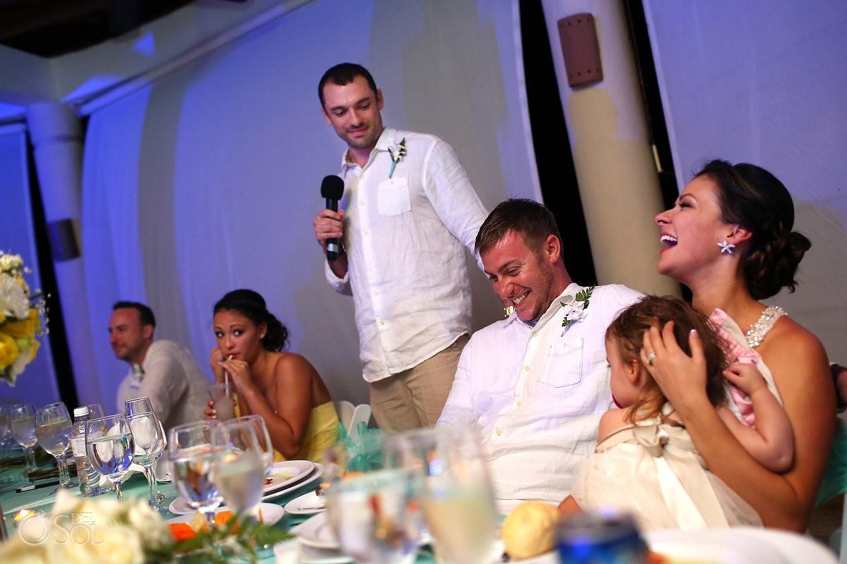 Beach wedding Dreams Tulum Mexico Del Sol Photography