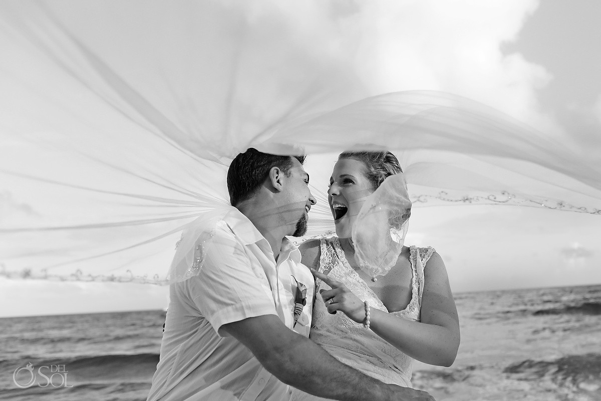 Beach wedding Dreams Puerto Aventuras Riviera Maya Mexico Del Sol Photography