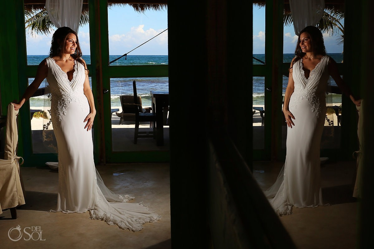 Beach wedding Tulum El Pez Mexico Del Sol Photography