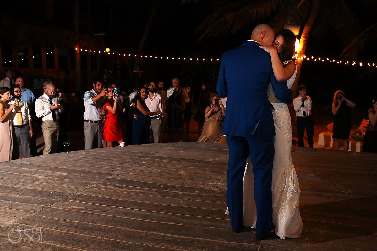 Beach wedding Tulum La Zebra Mexico Del Sol Photography