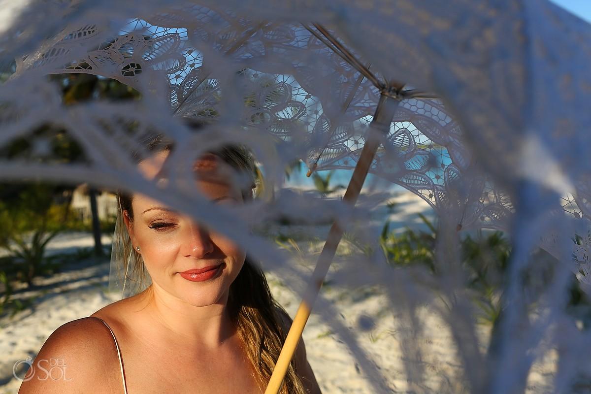 Riviera Maya trash the dress beach Mexico Del Sol Photography