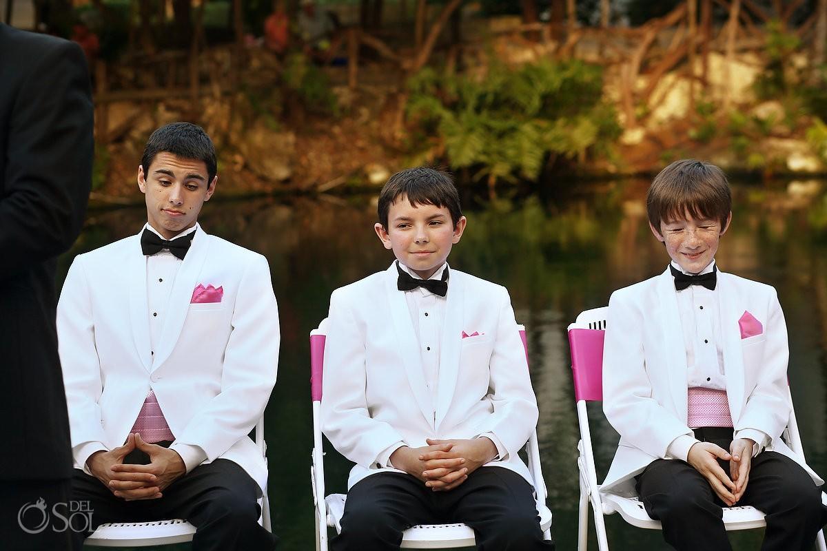 Riviera Maya cenote wedding Sandos Caracol Mexico Del Sol Photography