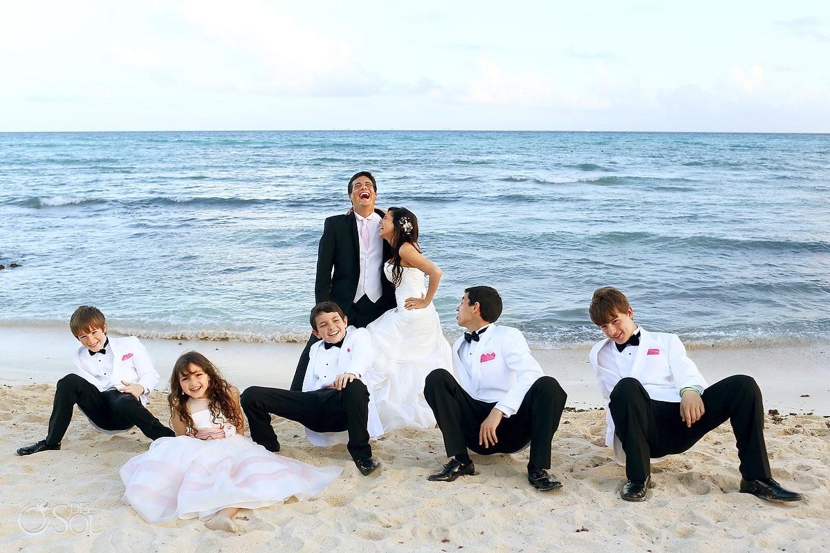 Riviera Maya wedding Sandos Caracol Mexico Del Sol Photography