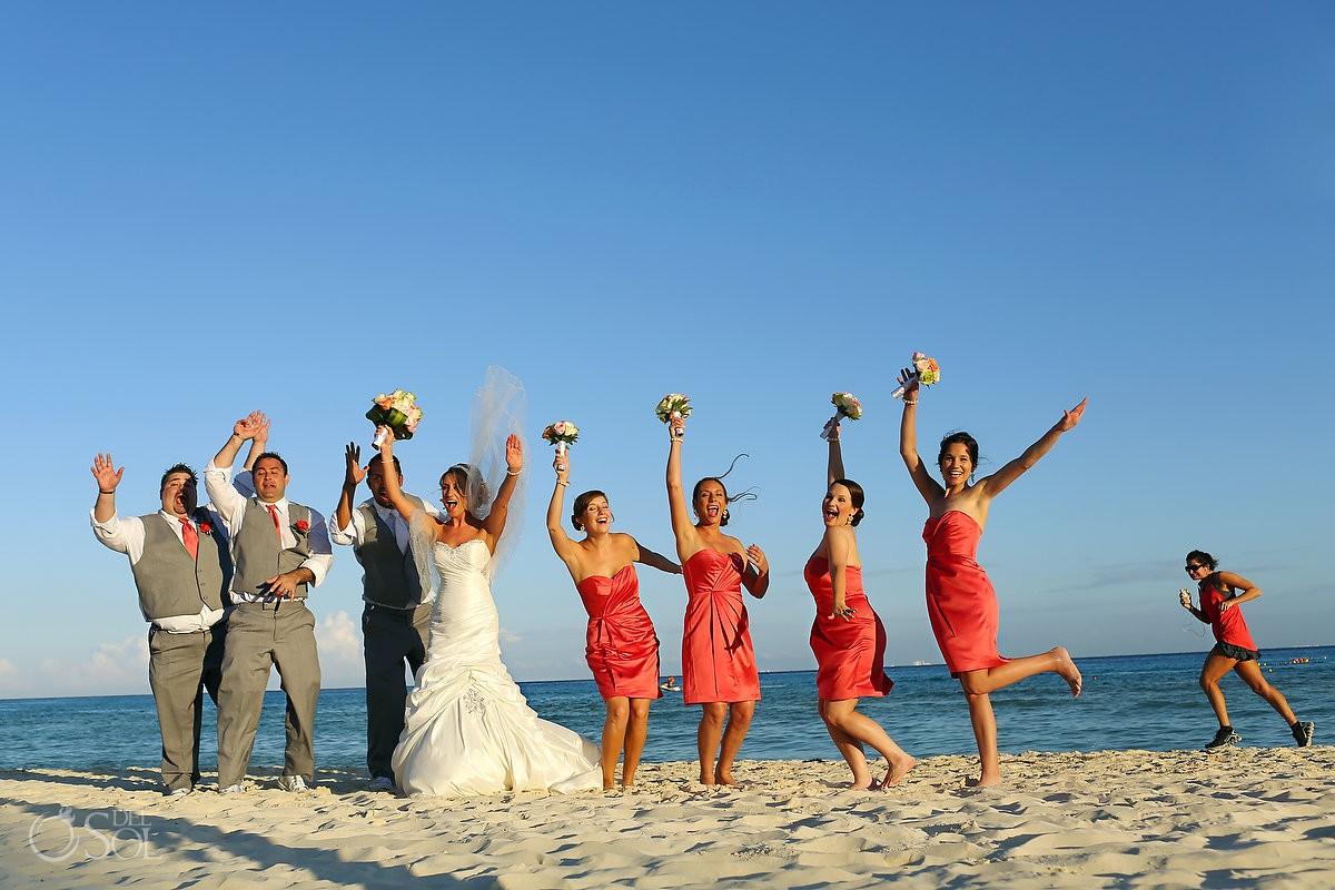Destination wedding Riu Riviera Maya Mexico Del Sol Photography