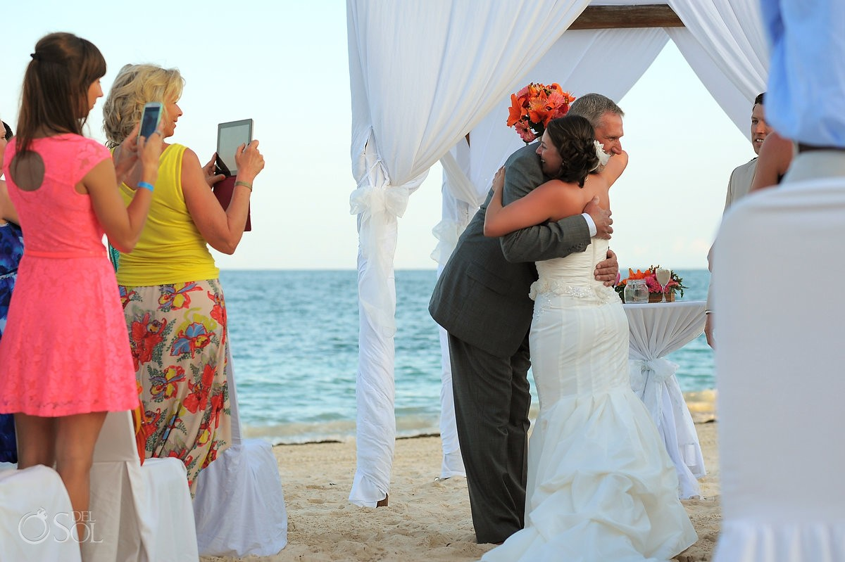 Riviera Maya Wedding at Ocean Coral Puerto Morelos - Lindsay and ...