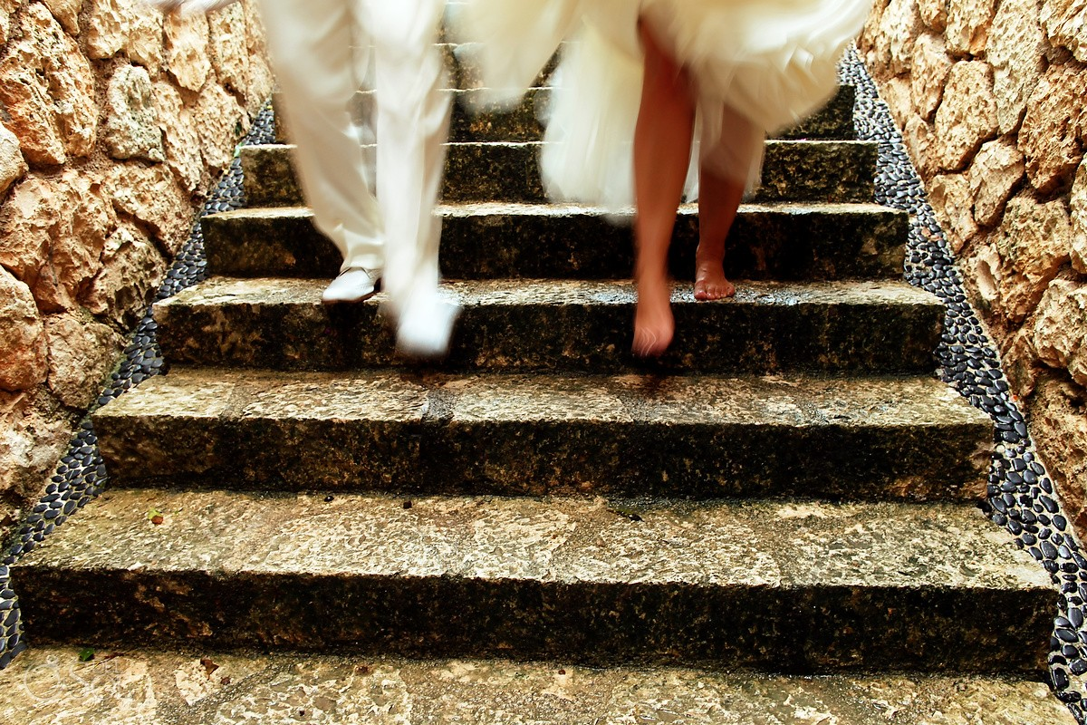 Xcaret wedding photography