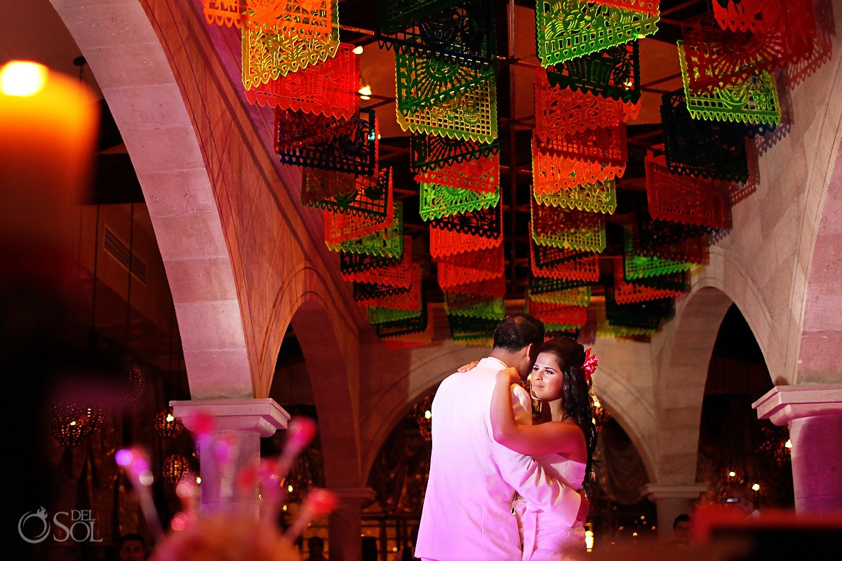 first dance mexican themed wedding dreams riviera cancun