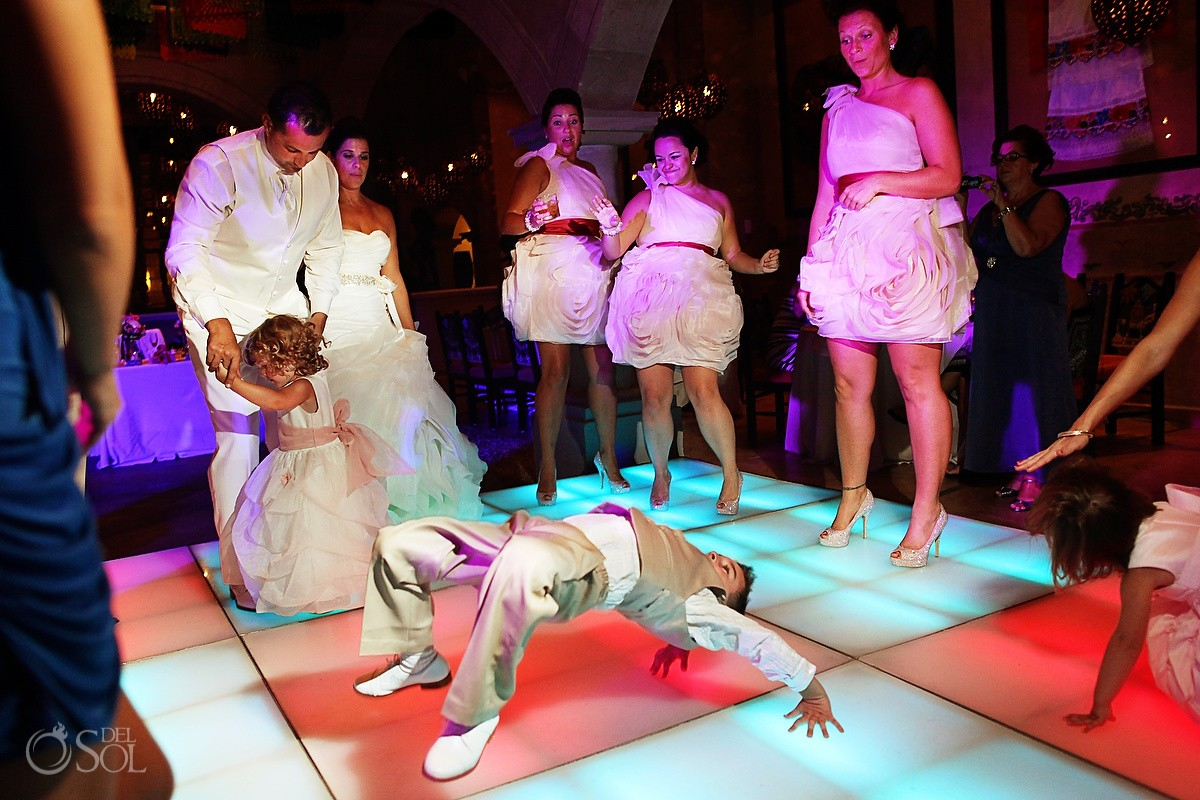 kids will be kids on the dancefloor dreams riviera cancun