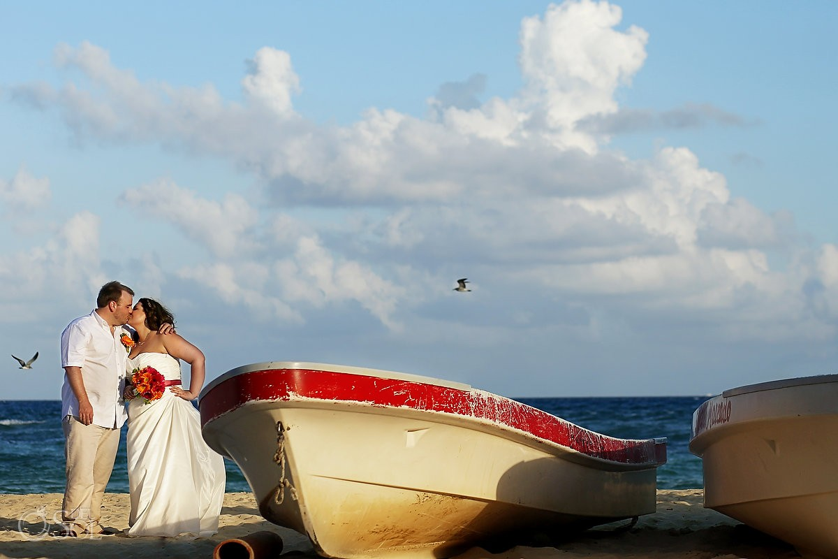 Playa del Carmen wedding Wah Wah Beach Club Mexico Del Sol Photography