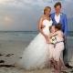 children with funny faces for a wedding Nueva Vida de Ramiro