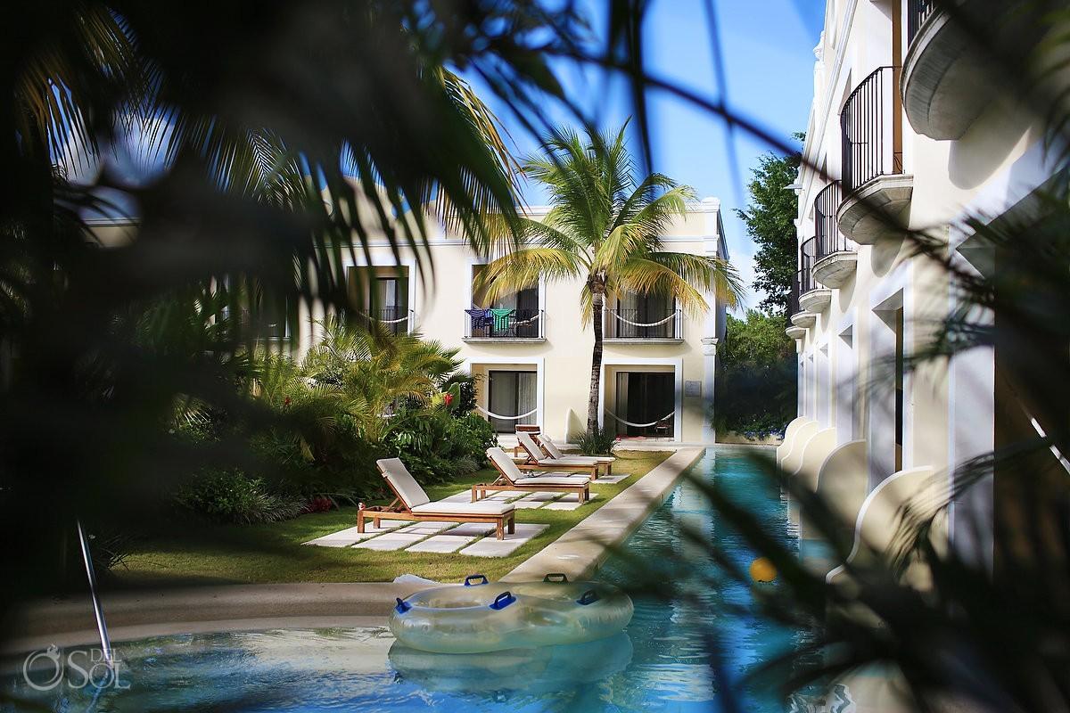 hotel views at dreams tulum hotel riviera maya mexico