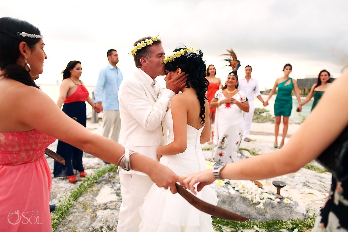 Cancun Destination Wedding at Nizuc Resort couple