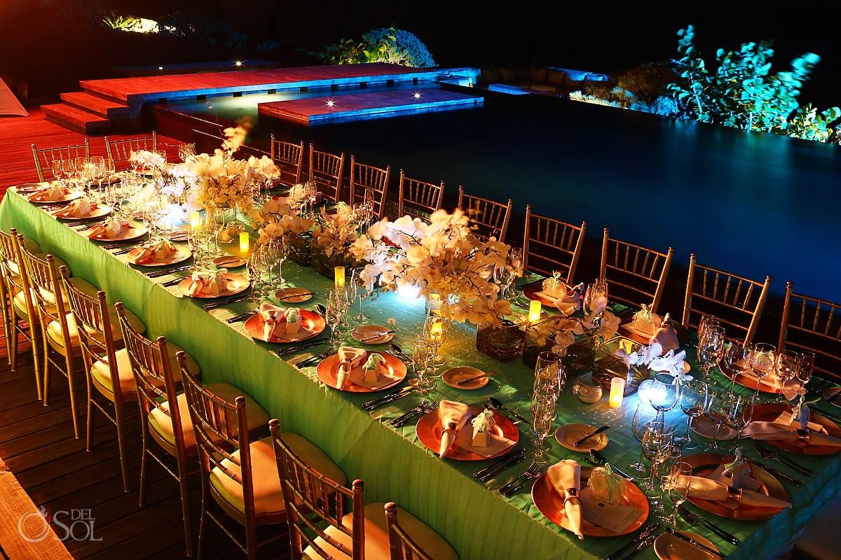 Amazing reception decoration at NIzuc Resort and Spa