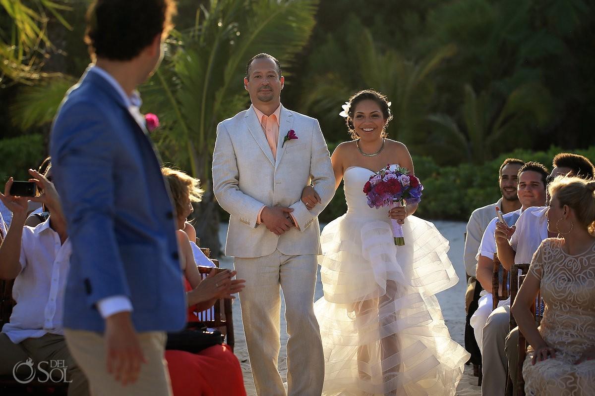 Playa del Carmen wedding Grand Coral Beach Mexico Del Sol Photography
