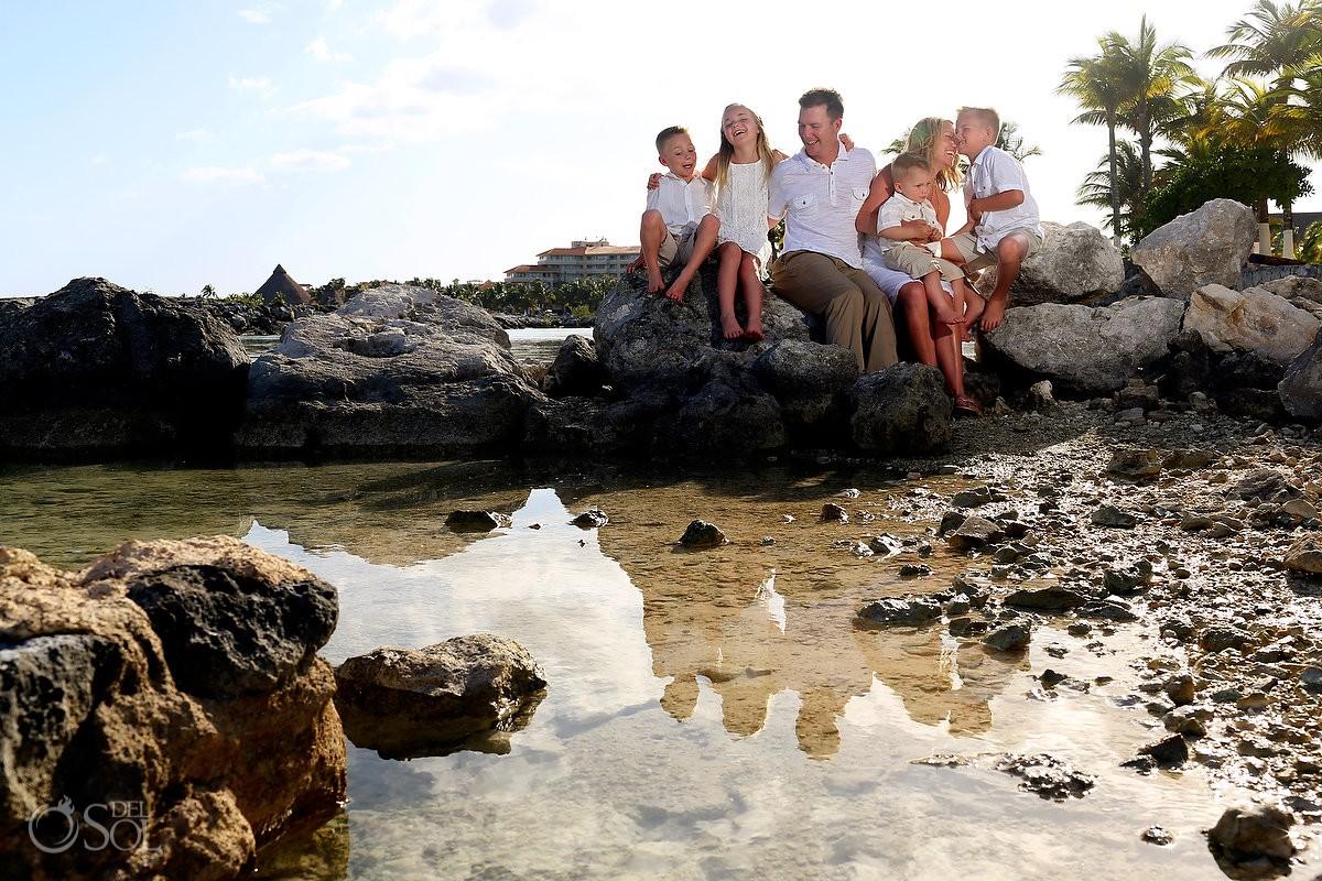 Family portraits Riviera Maya Dreams Puerto Aventuras Mexico Del Sol Photography