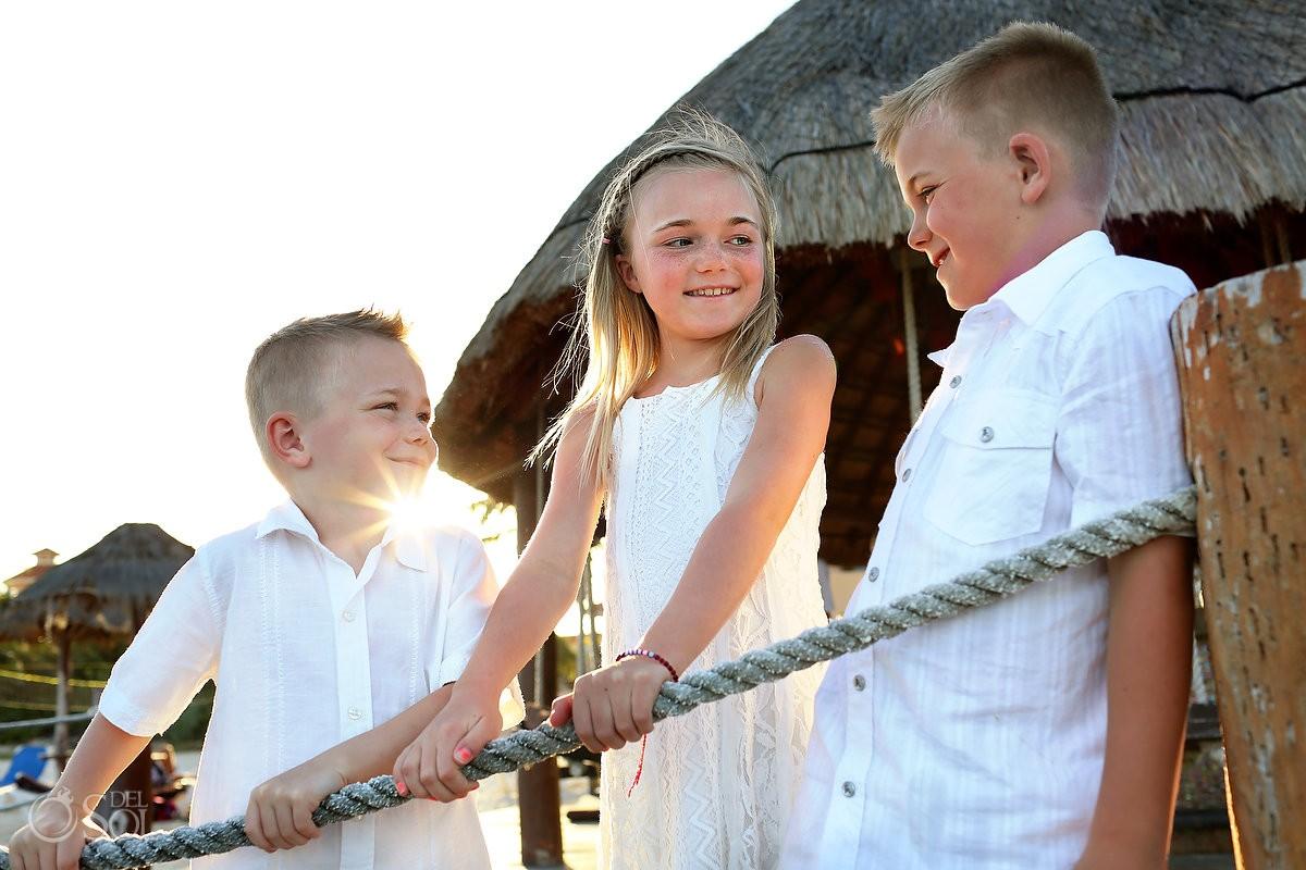 Riviera Maya family portraits Dreams Puerto Aventuras Mexico Del Sol Photography