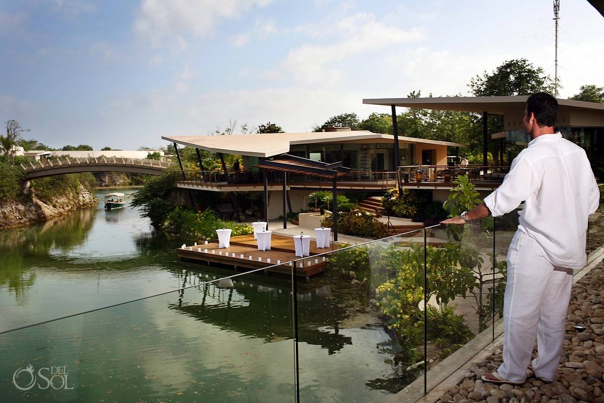 Wedding Rosewood Mayakoba Lagoon Ceremony