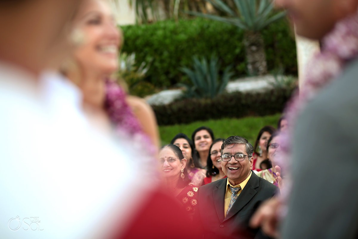 Multicultural wedding Jewish Hindu Sandos Cancun Mexico Del Sol Photography