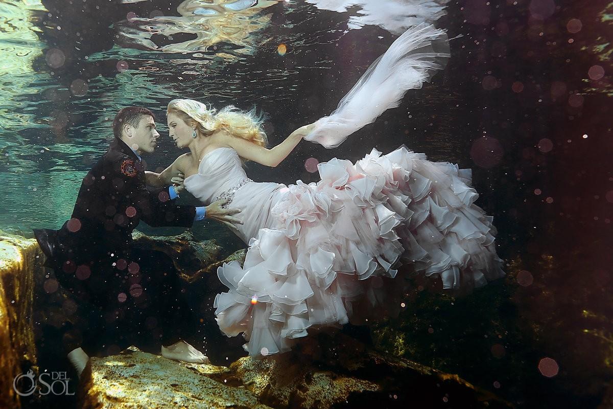 Maggie Sottero Underwater dress