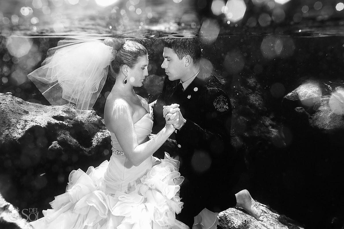 Maggie Sottero Underwater wedding dress