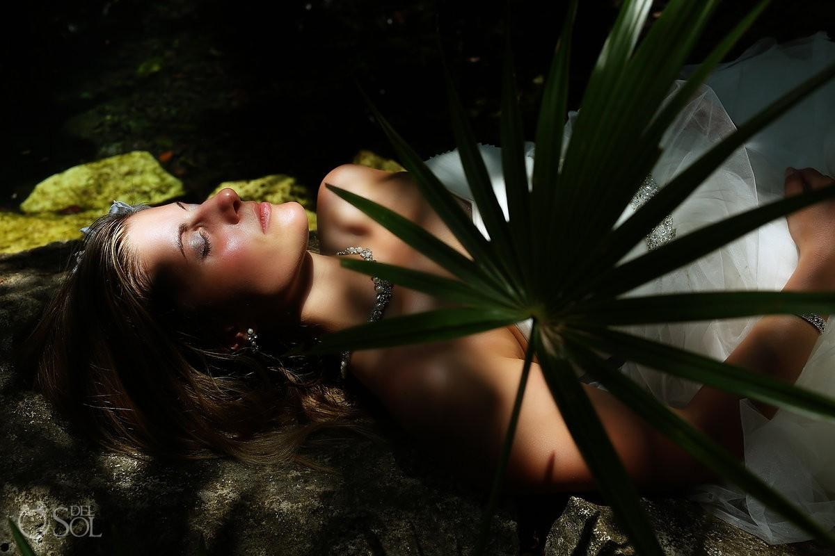 Riviera Maya trash the dress Mexico Del Sol Photography