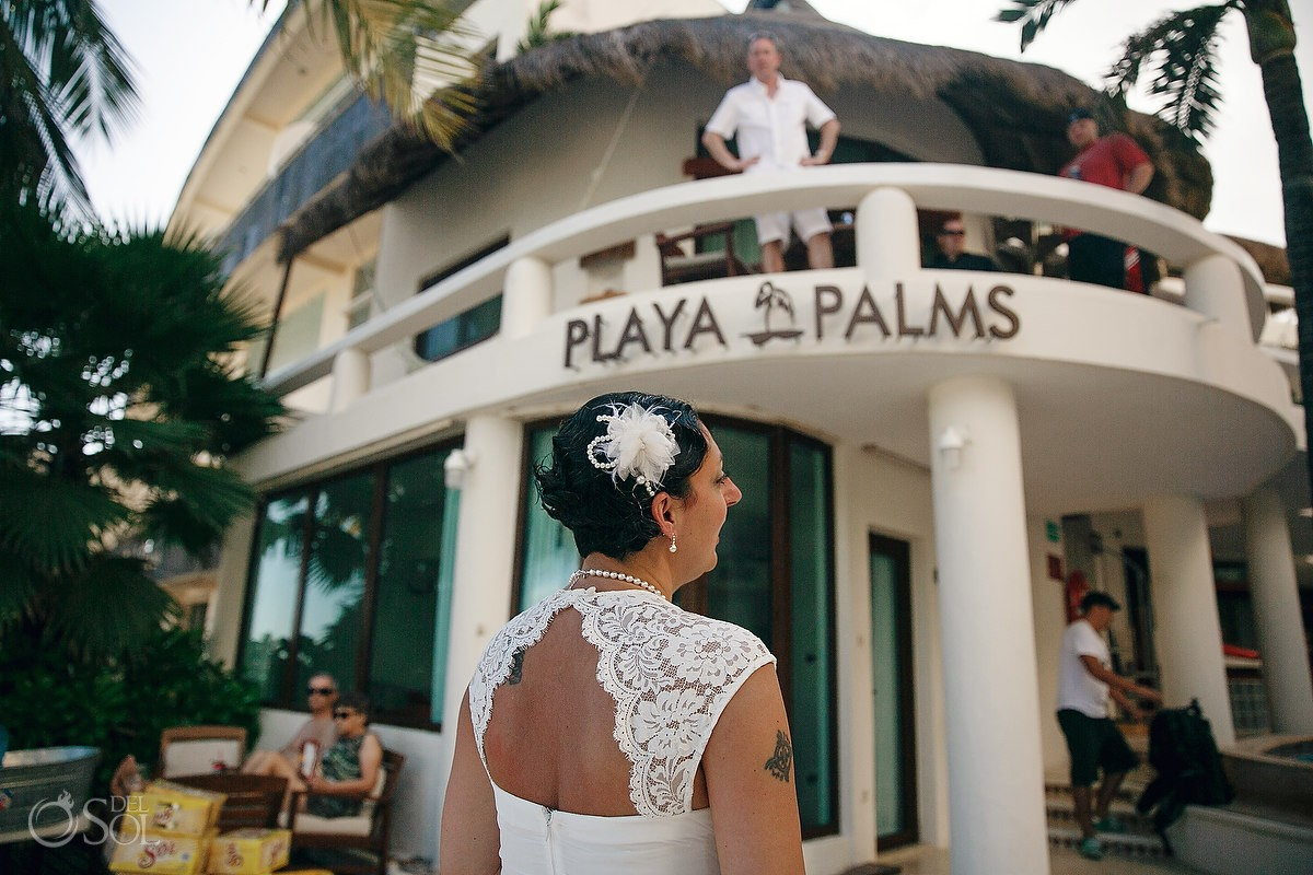Beach Wedding Playa Del Carmen Palms Mexico Sol Photography
