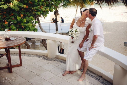 Beach destination wedding Playa del Carmen Playa Palms Mexico Del Sol Photography
