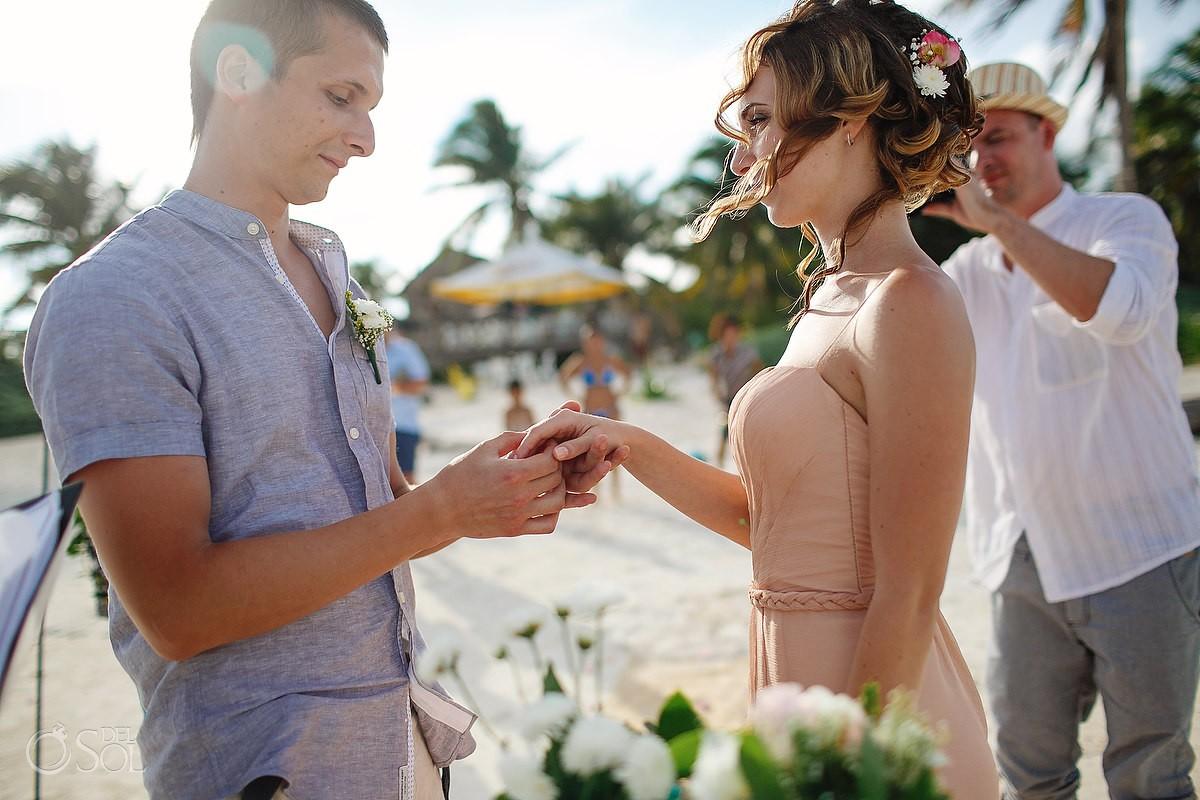 Tulum beach wedding Mexico Del Sol Photography