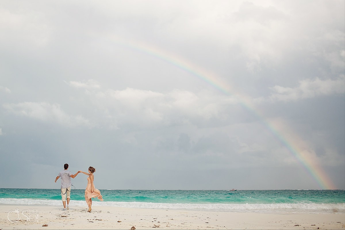 Tulum beach wedding Mexico Del Sol Photography