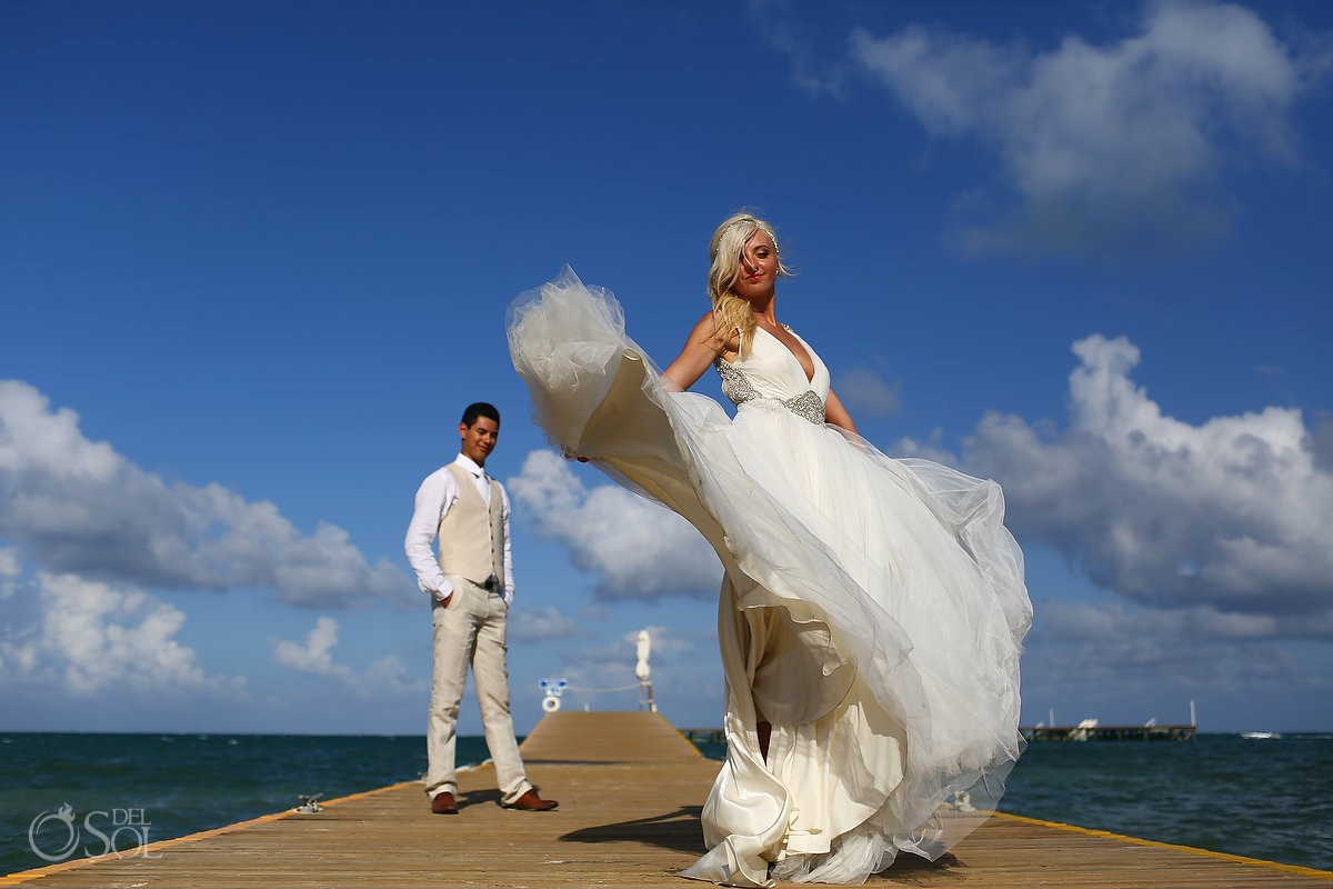 Destination wedding Cancun Moon Palace Mexico Del Sol Photography