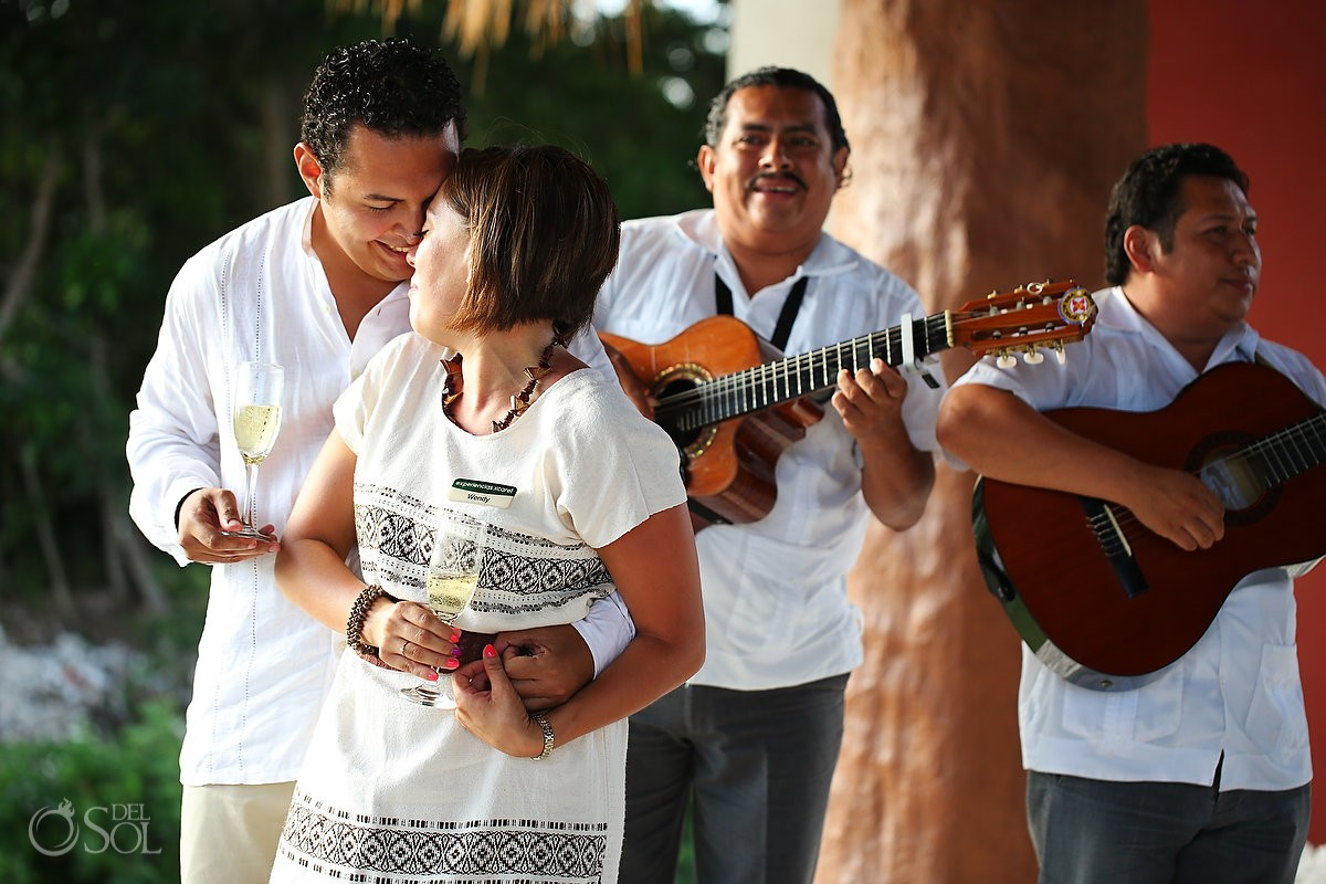 Xoximilco Cancun surprise romantic engagement Del Sol Photography Mexico