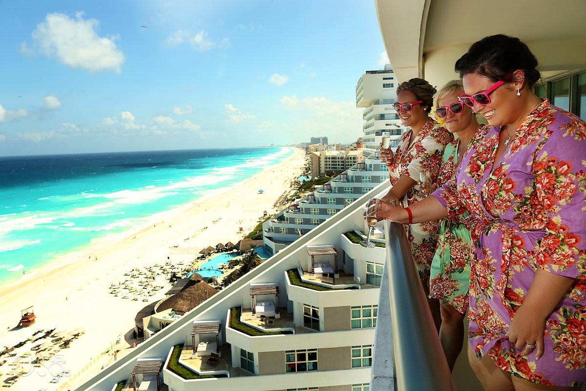 cancun wedding at beach palace resort amanda and don