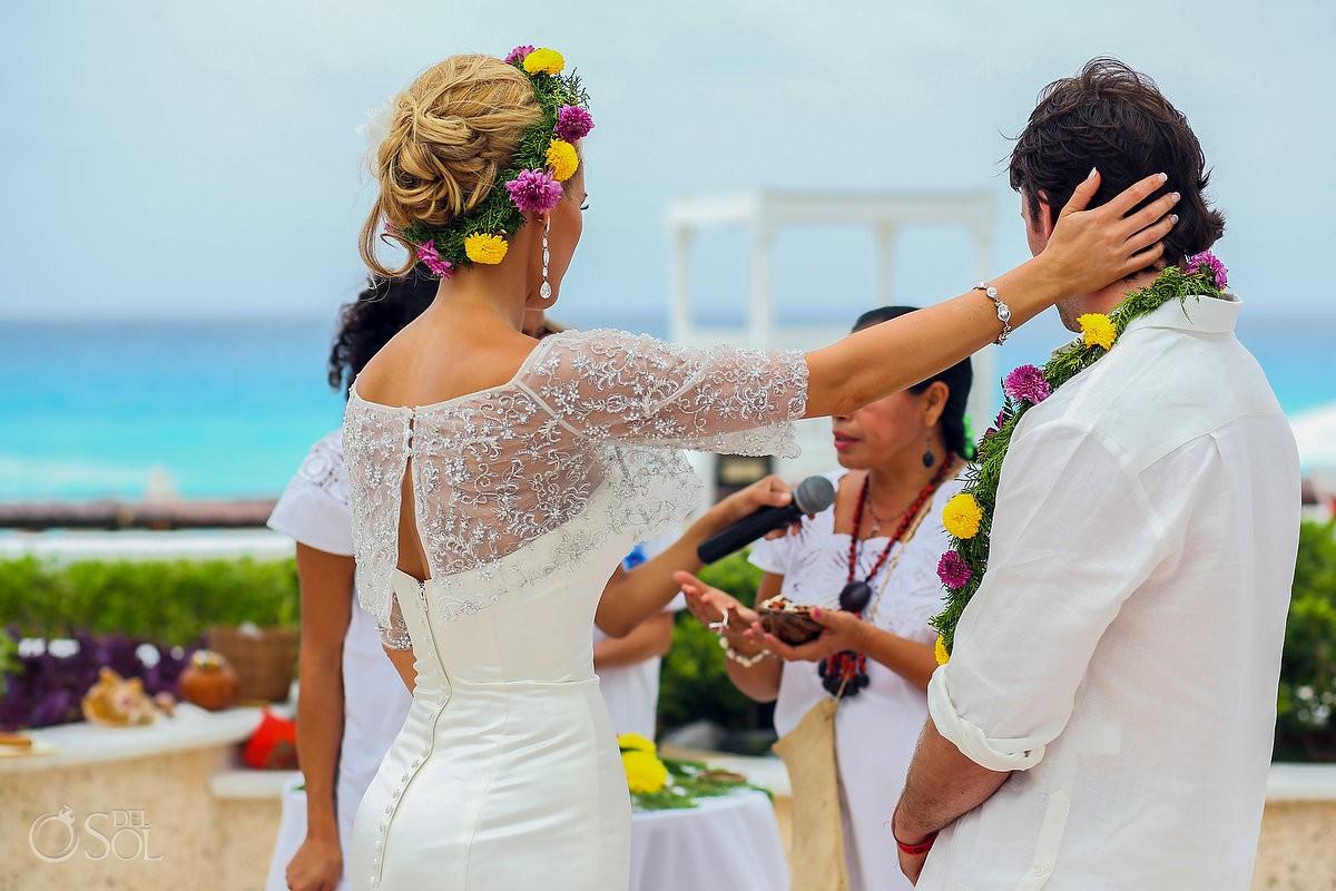 Destination wedding Sandos Cancun Mexico Del Sol Photography