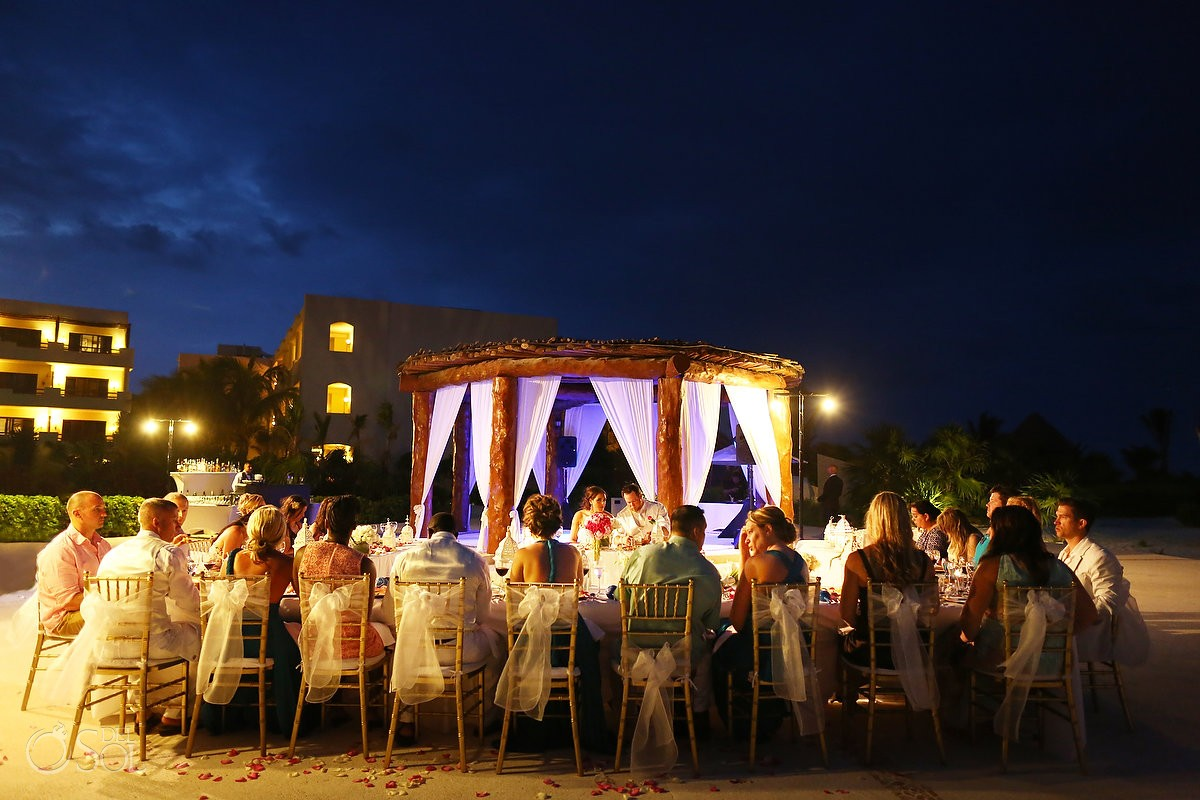 wedding reception venue at Secrets Maroma