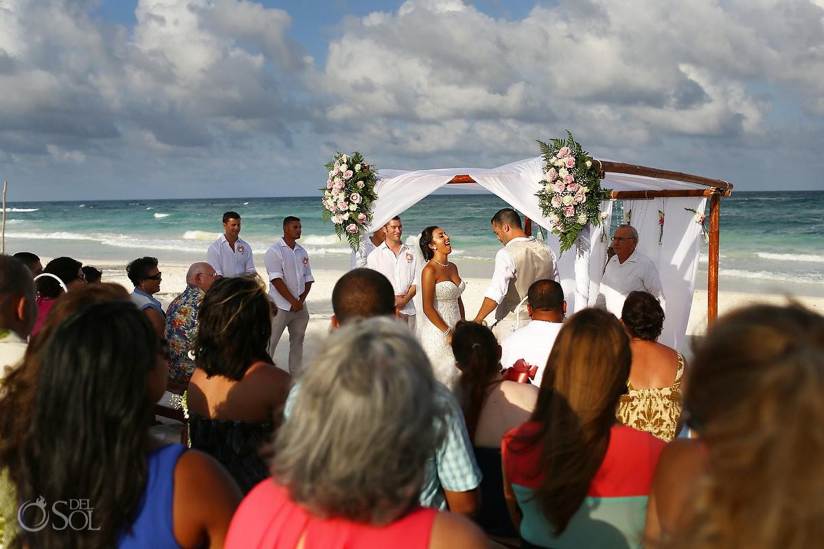 Akiin Tulum Destination Wedding ceremony