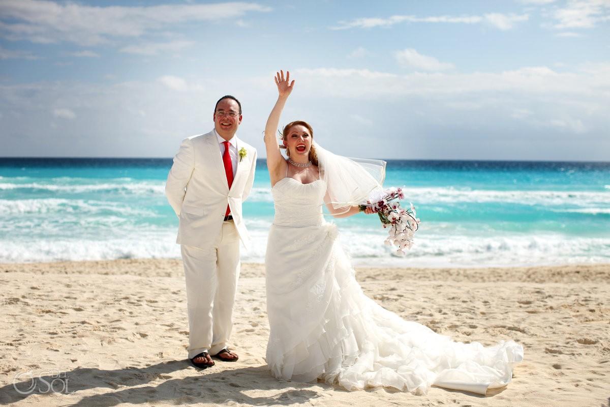 Cancun Destination Wedding - Adriana And Mariano - Del Sol Photography