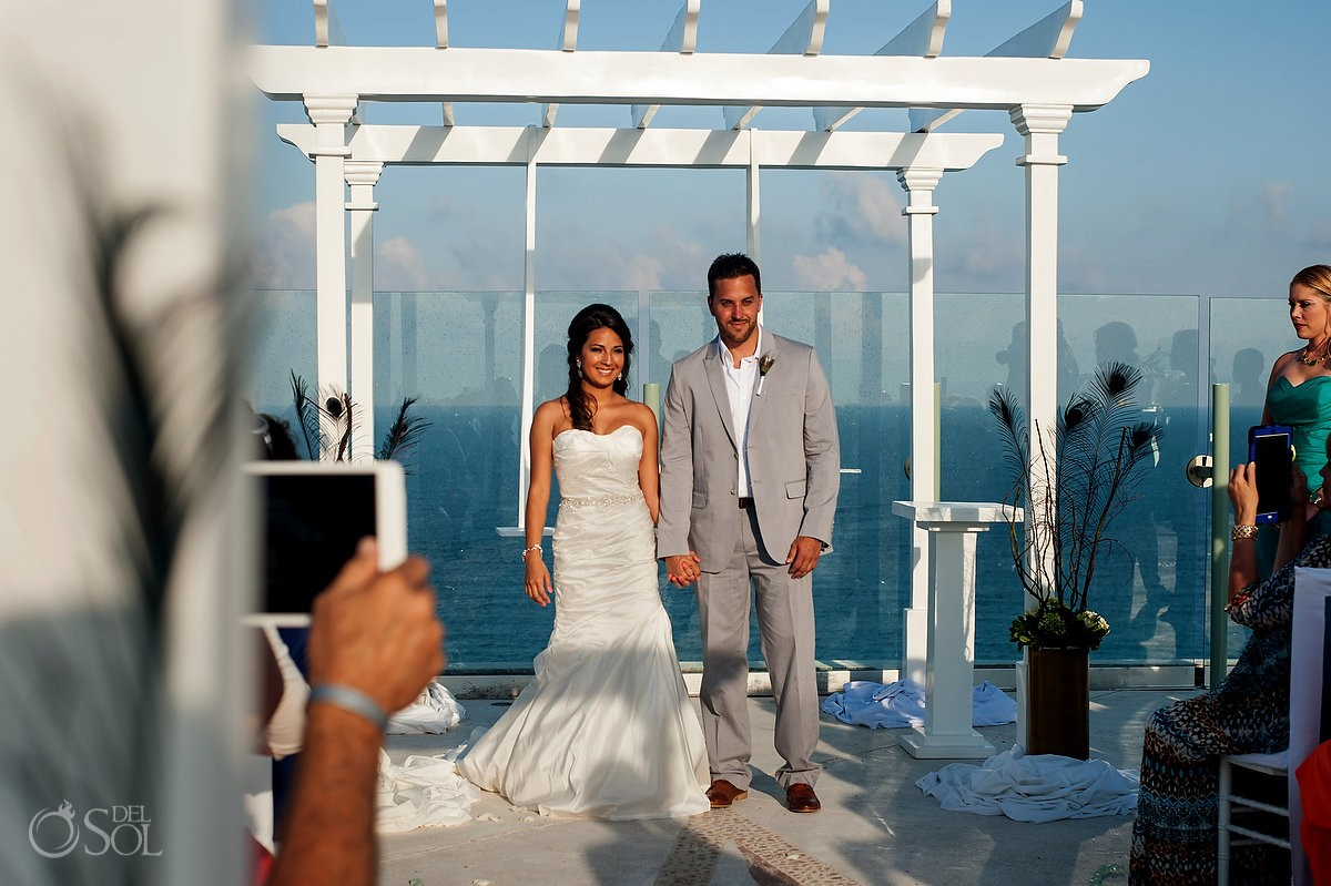 Cancun Wedding at Beach Palace – Melissa and Chris - Del Sol Photography