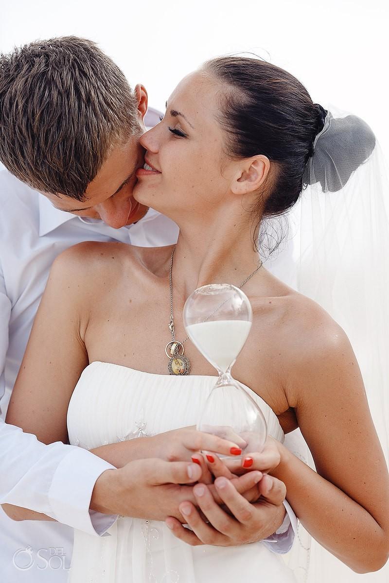 bride and groom Wedding Arenika Beach Club
