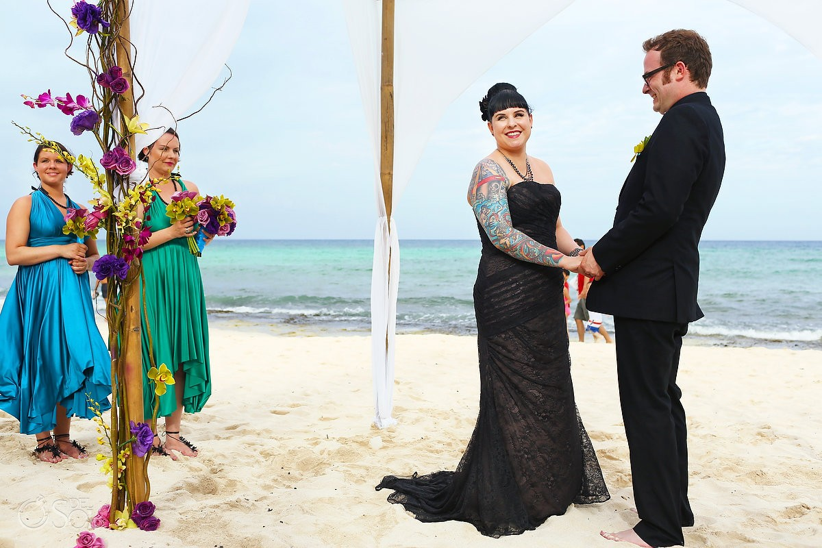 Destination wedding Le Reve Hotel Playa del Carmen Mexico Del Sol Photography