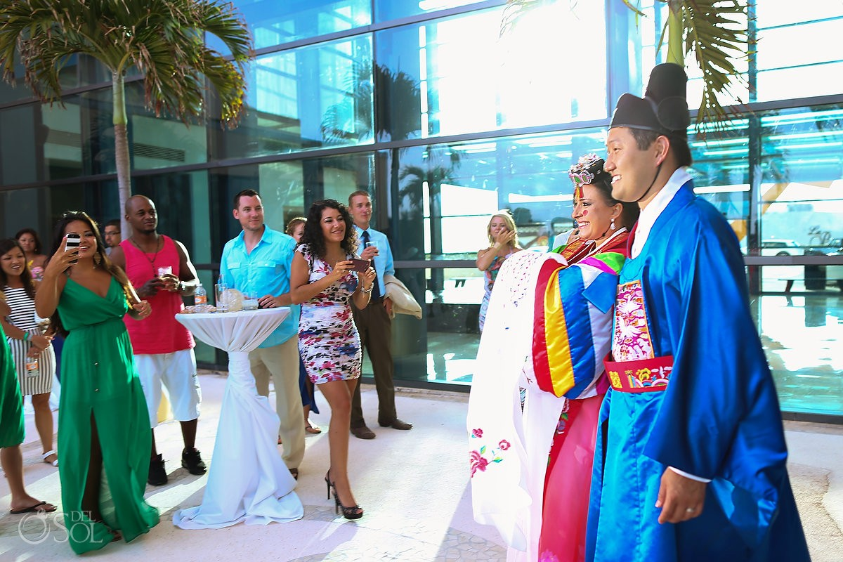 German Korean Wedding - Live Aqua Cancun