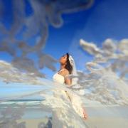 Huffpost weddings 30 Drop-Dead Gorgeous Bridal Portraits Live Aqua Cancun, Mexico.